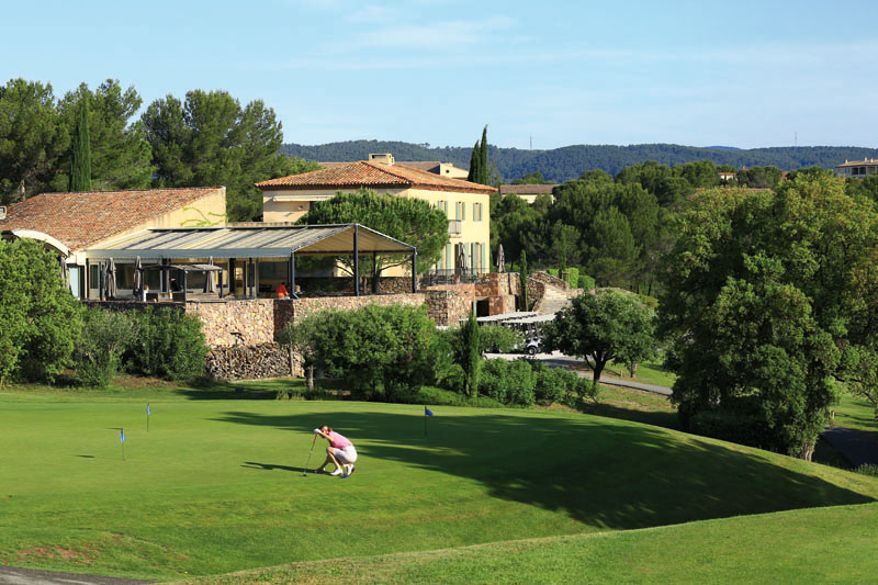 France, Var (83), La Motte en Provence, Domaine de Saint Endreol, Golf