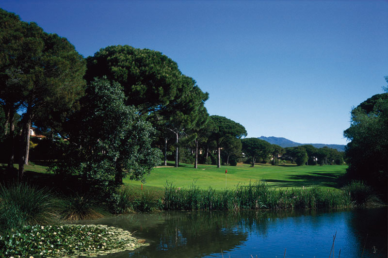 Golf Blue Green Esterel 2