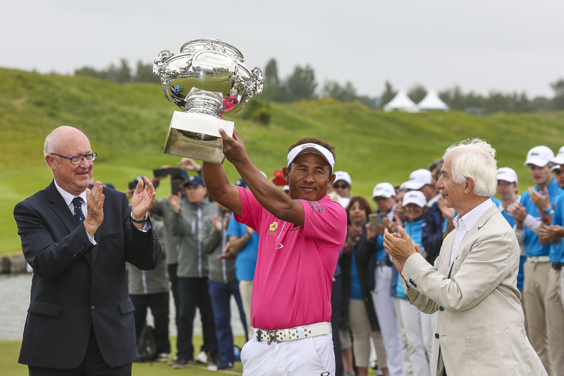 jaidee (thongchai) - (tha) - ROUND 4 - 100 EME EDTION ALSTOM OPEN DE FRANCE - EUROPEAN TOUR - GOLF NATIONAL - SAINT QUENTIN EN YVELINES - SAISON 2016-2017 -