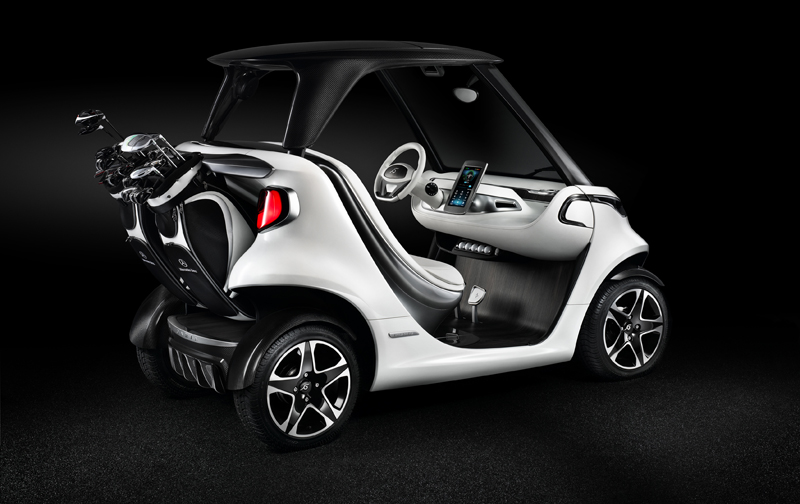 Das Mercedes-Benz Style Edition Garia Golf Car (Show Car) feiert Weltpremiere ; World Premiere of the Mercedes-Benz Style Edition Garia Golf Car (Show Car) ;