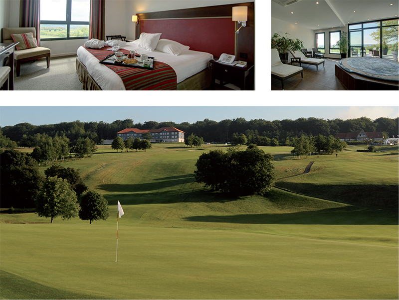 Aa Saint Omer Golf Club Najeti Hotel du Golf TOP100 2