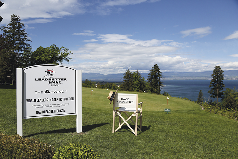 Evian Resort Golf Club - Academie David Leadbetter TOP100 2018