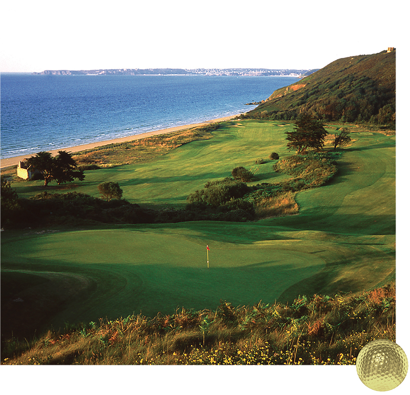 Golf Blue Green Pleneuf Val Andre TOP100