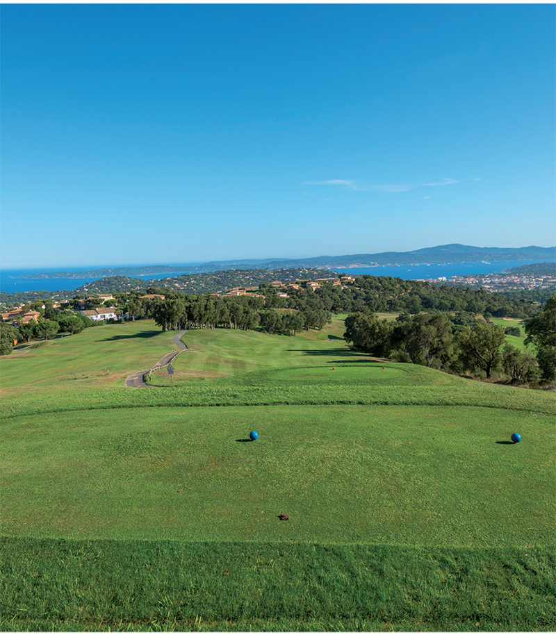 Golf Blue Green de Sainte Maxime TOP100 2
