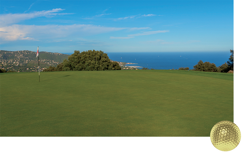 Golf Blue Green de Sainte Maxime TOP100