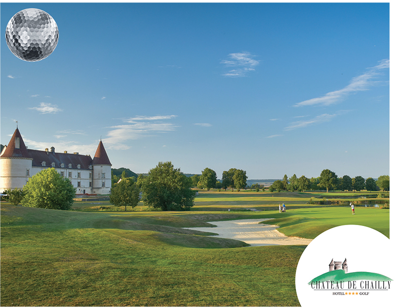 Hotel Golf du Chateau de Chailly TOP100