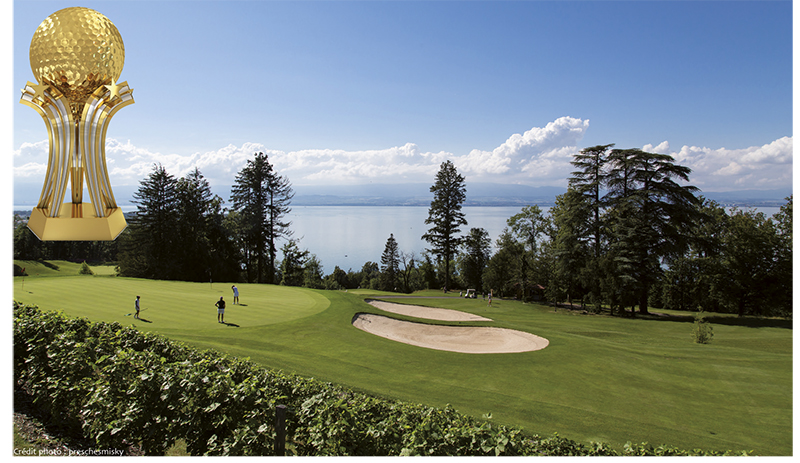 TOP 100 2018 Evian Resort Golf Club - Lac Leman