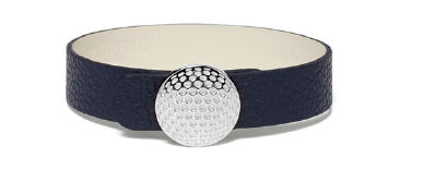 Decayeux Collection Balle de Golf Bracelet en cuir