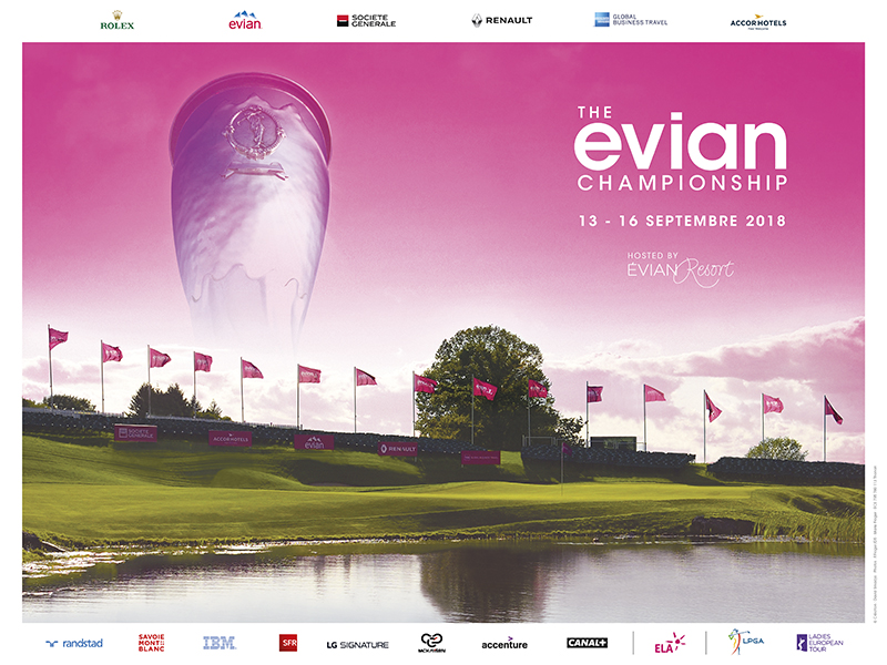 The Evian Championship 2018