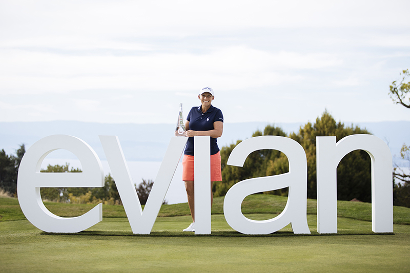 THE EVIAN CHAMPIONSHIP 2018 Angela Stanford