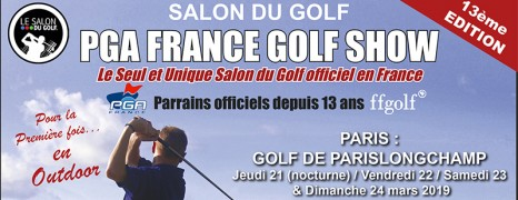 Le salon du Golf à Paris Longchamp
