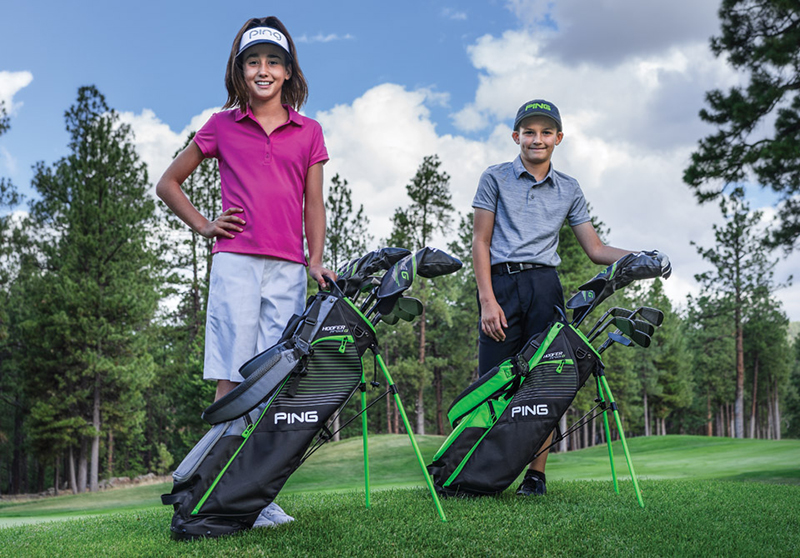 GOLF PLUS CLUBS JUNIORS PING PRODI G 1
