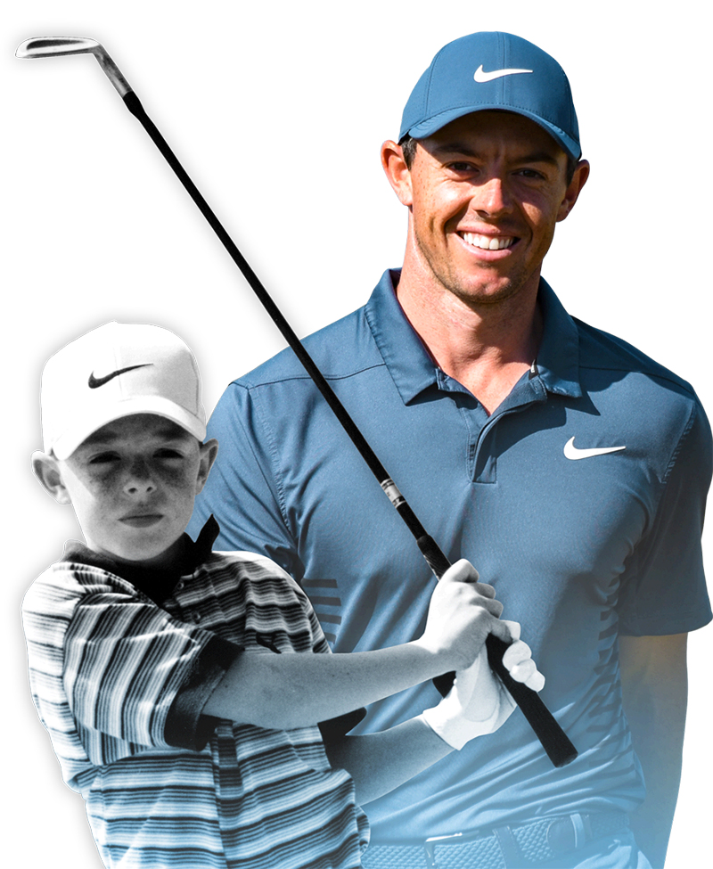 GOLF PLUS CLUBS JUNIORS TAYLORMADE RORY 1