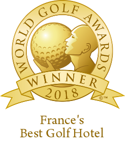 Logo best France's Golf resort 2018 World Golf Awards
