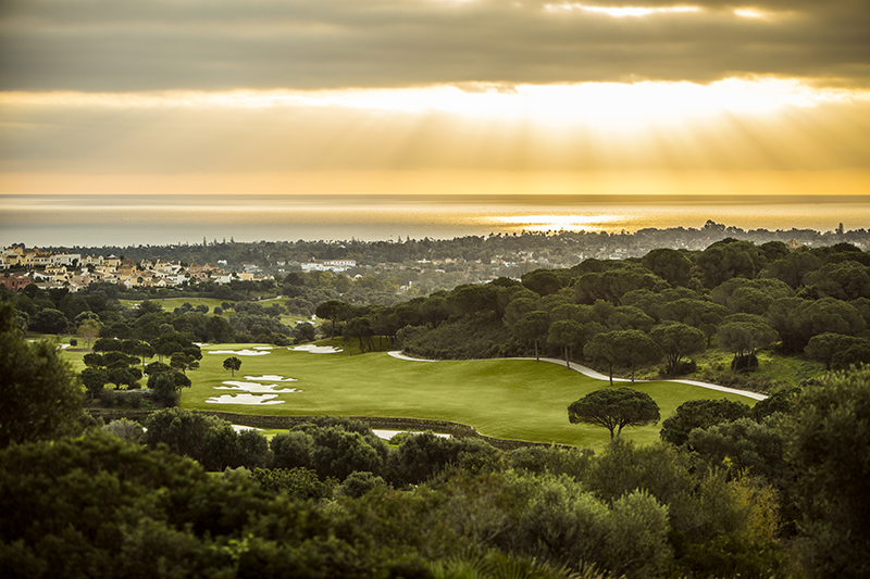 2016, AM, El Mirador, Golf course, January, Sotogrande, mm925_Sotogrande, view of La Reserva