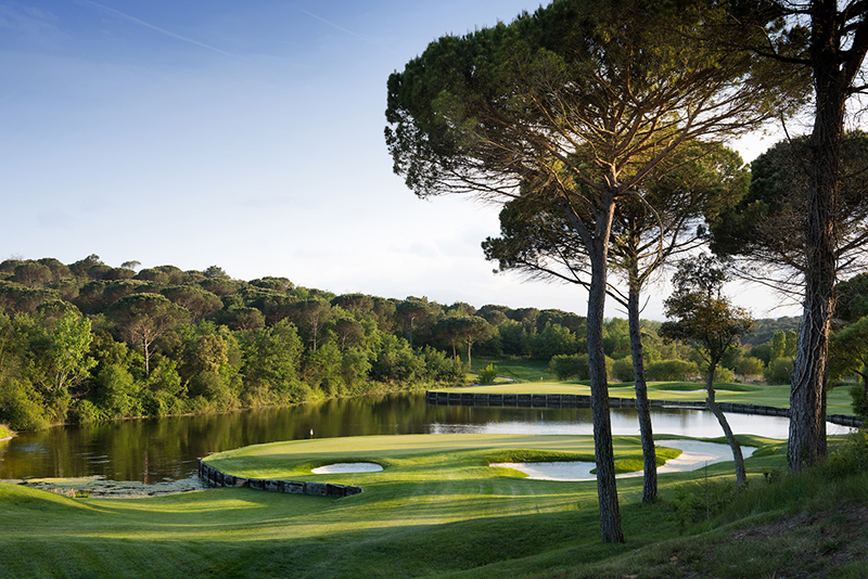1. PGA Catalunya Resort - Stadium Course - Hole 11 Tree copie